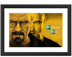 Quadro Breaking Bad Seriado Tv Serie Fox