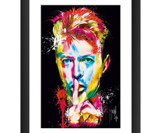 Quadro David Bowie Banda Rock Glam Music