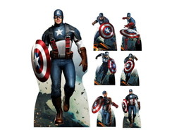 Kit Totem Display Capitao America