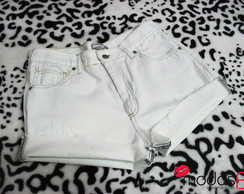 Short Jeans Basic White