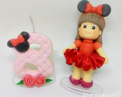Vela e mini topo Minnie