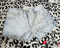 Short Jeans Customizado Spike
