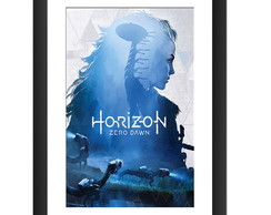 Quadro Horizon Zero Dawn Game Poster RPG