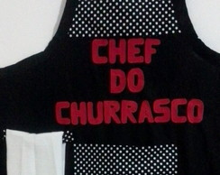 Avental Chef do churrasco