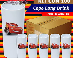 Copo Long Drink - Disney Carros