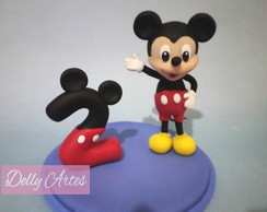 Topo - MICKEY MOUSE + nº2