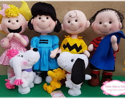 bonecos turma do snoopy