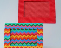 Porta retrato Duplo chevron color
