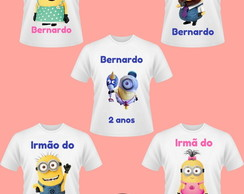 Kit Camiseta Minion