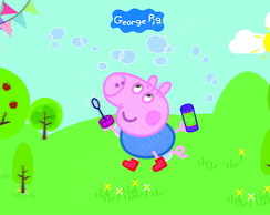 Painel George Pig - Aluguel SP