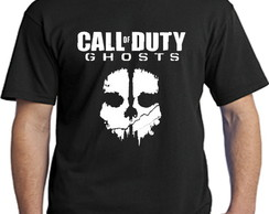 2535- camisetas games call of duty ghost