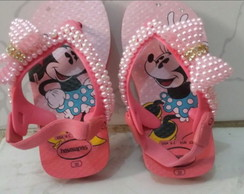Havaiana customizada baby