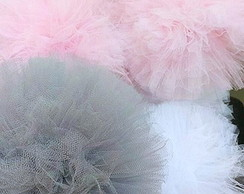Kit Pompom Tule DELICATE PARTY