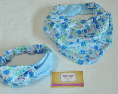 Kit Babador Bandana e Turbante