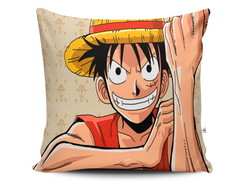 Almofada Luffy | Once Piece 28x28cm