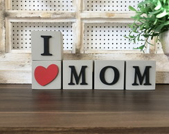 Cubo Decorativo 6x6 - I LoveMOM