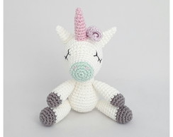 Unicórnio Mini - Amigurumi