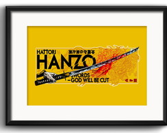 Quadro Hatori Hanzo Kill Bill Paspatur