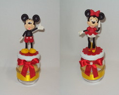 POTE DE VIDRO TURMA DO MICKEY!