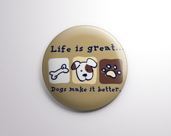 Life is great....dogs make it better