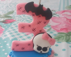 Vela Monster high de Biscuit