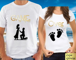 CAMISETA GAME OVER C/2