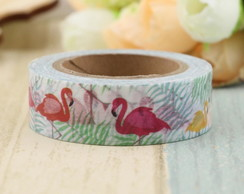 Washi Tape Flamingos - 10m