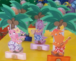 Tubete Backyardigans