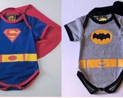 Body Fantasia Super Homem+ Batman