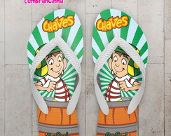Chinelo Infantil Chaves Personalizado