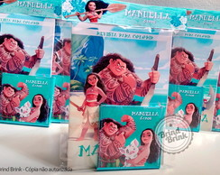Moana - Kit Colorir + lapela