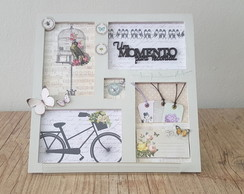 Quadro Decorativo- Scrap decor