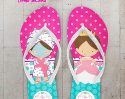 Chinelo Infantil Spa da Princesa