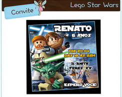 Convite digital Lego Star Wars