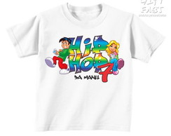 Camisetas Festa Hip Hop (Exclusiva)