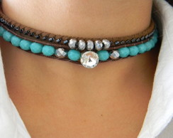 Mix Chokers Algas Marinhas - Cód. M009