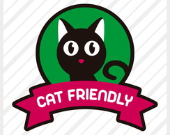 Adesivo Cat Friendly