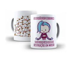 Caneca League of Legends Jinx