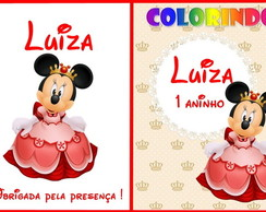 Kit de colorir Minie