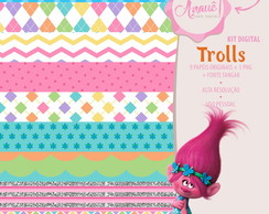 Kit Digital Personagens - Trolls