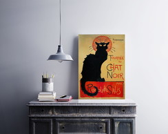 "Placa decorativa ""Tournee du Chat Noir"""