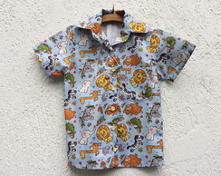 Camisa tema Safari digital