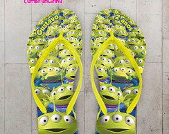 Chinelo Infantil Toy Story Personalizado