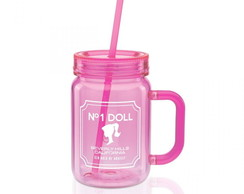 CANECA POTE BARBIE BEAUTY