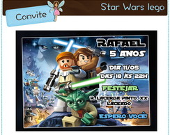Convite Lego Star Wars | digital