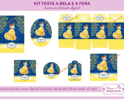 Kit Digital Festa A Bela e a Fera