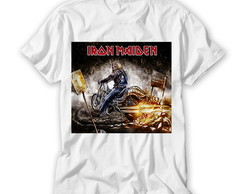 Camiseta Banda de Rock - Iron Maiden