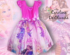 Vestido Barbie Pop Star