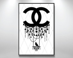 Placa poster Chanel