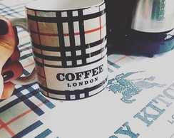 Caneca Coffee Burberry